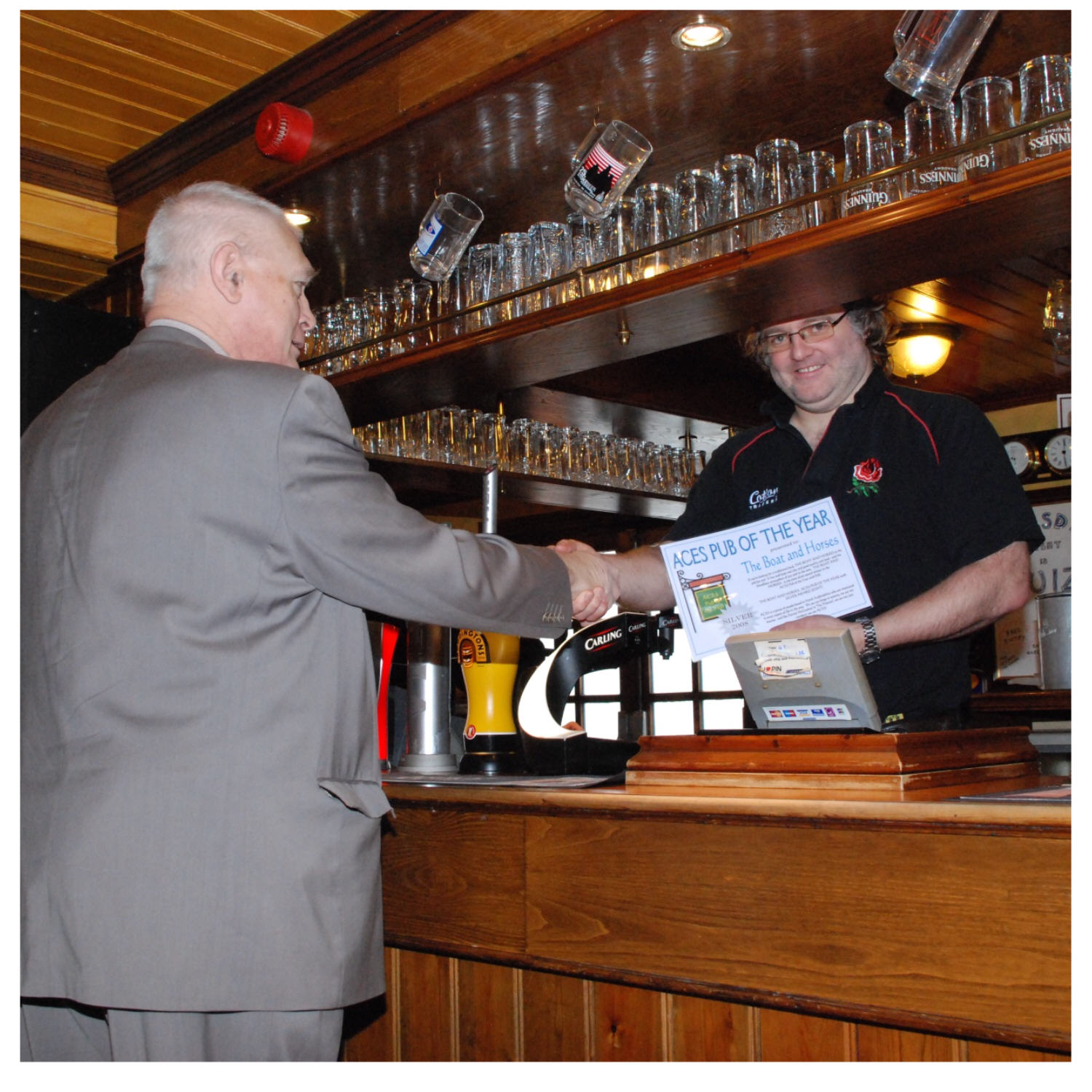 ACES Pub of the Year Award 2008 - Silver Award