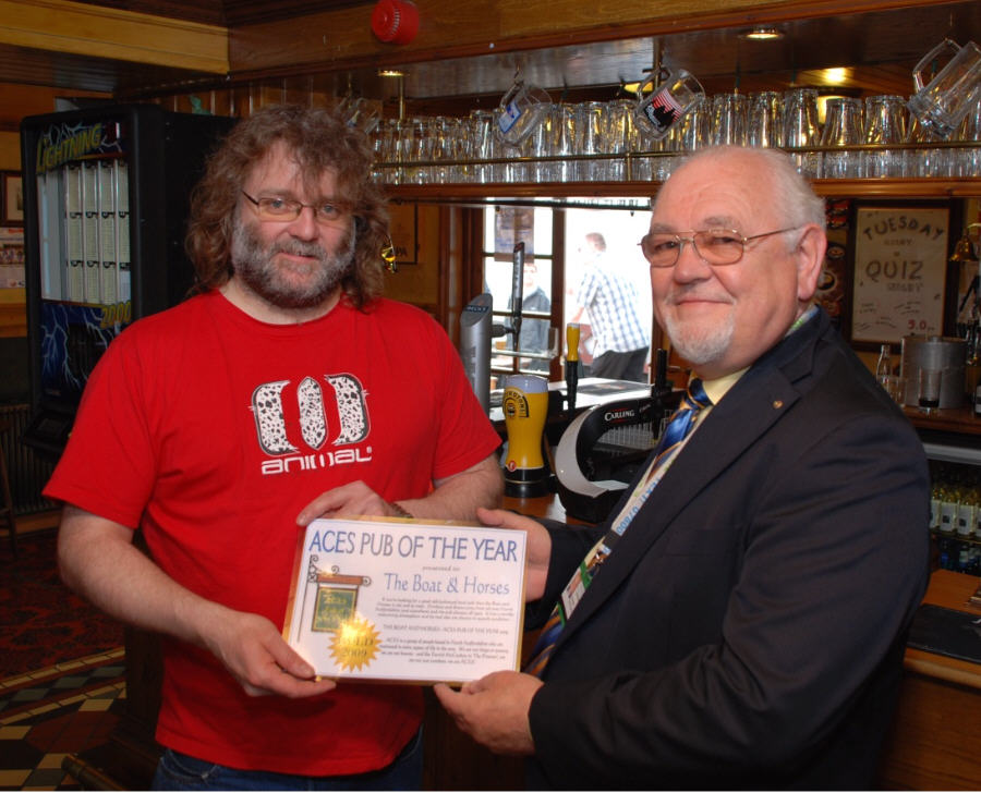 Boat & Horses - Best Pub - Gold Award