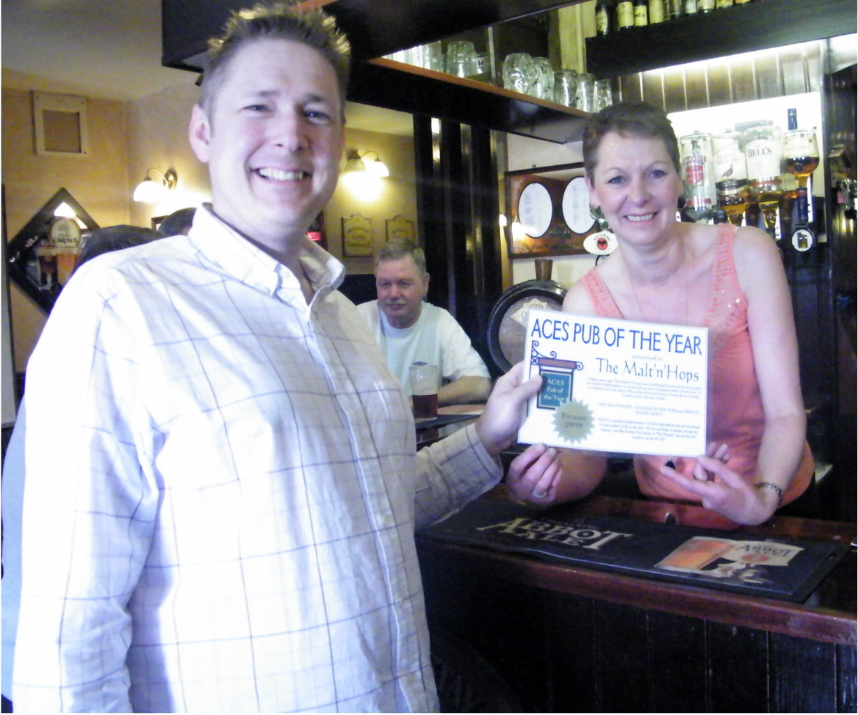 The Malt'n'Hops - Best Pub - Bronze Award (Joint)