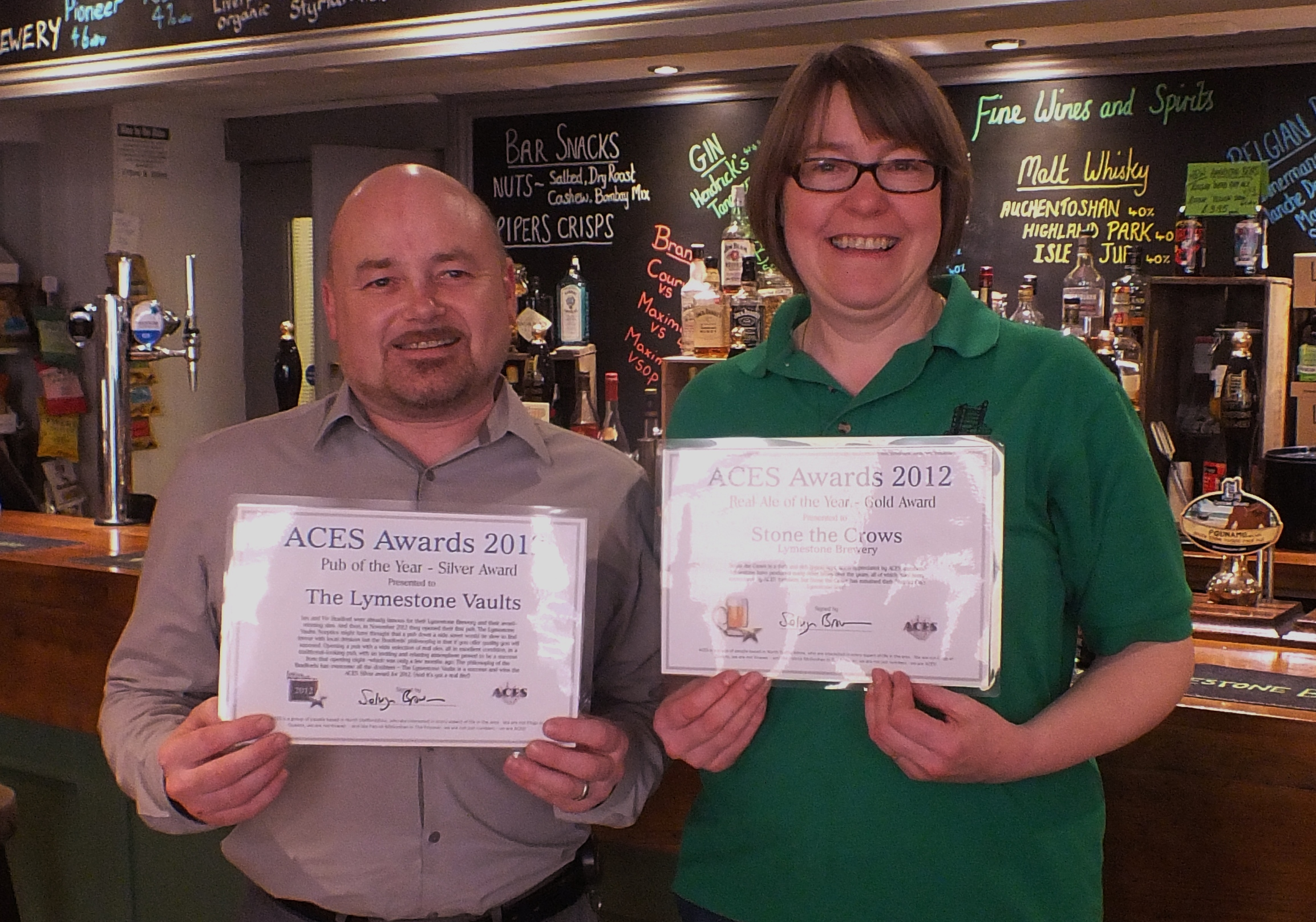 Best Pub Silver & Real Ale Gold