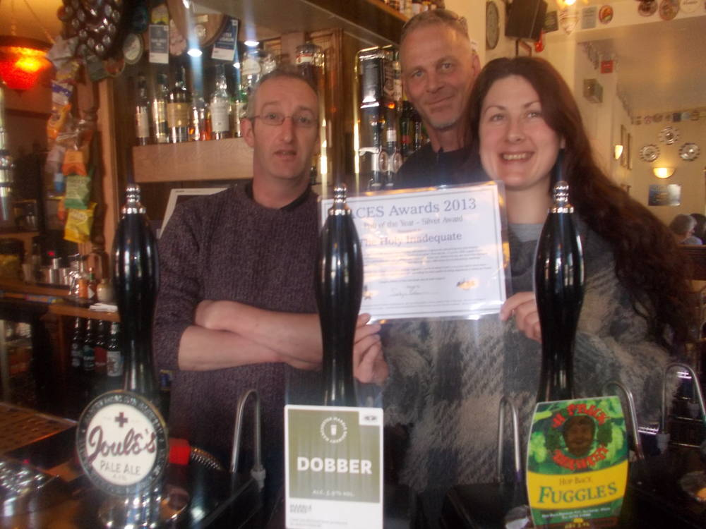 Best Pub (Silver) - Holy Inadequate, Etruria